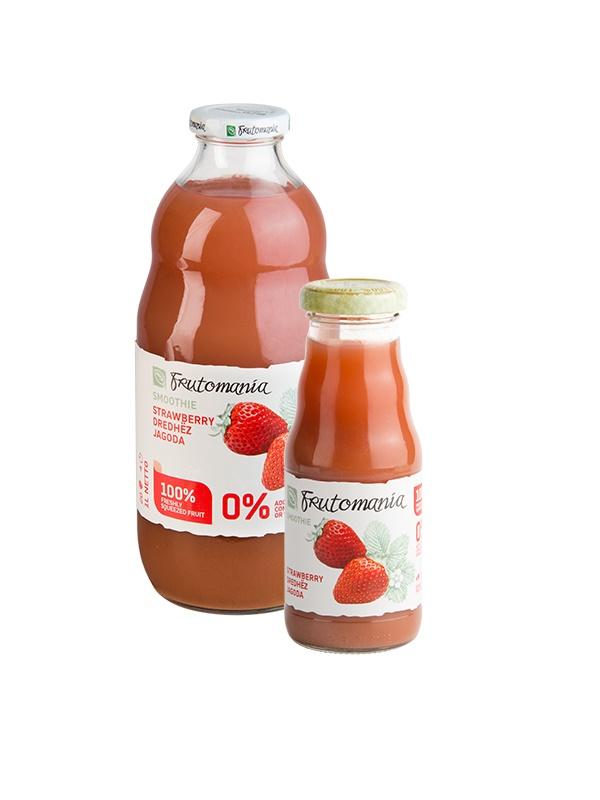 Frutomania 100% eper gyümölcslé 1l