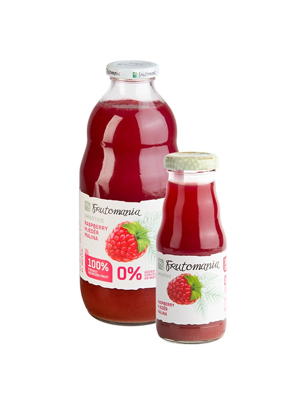 Frutomania 100% málna gyümölcslé 1L