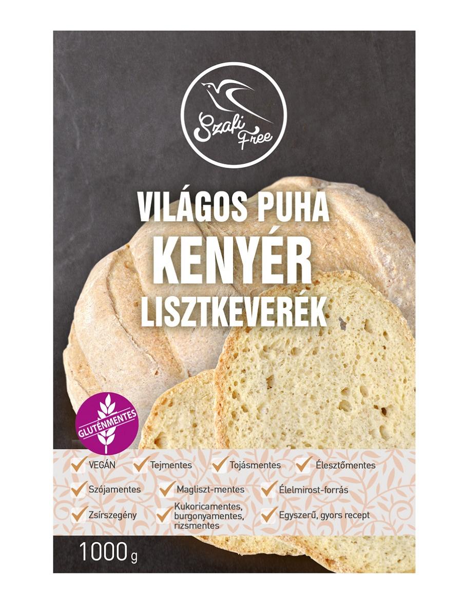 Szafi Free világos puha kenyér lisztkeverék 5 Kg