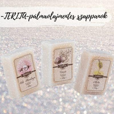 TERITA pálmaolajmentes szappanok