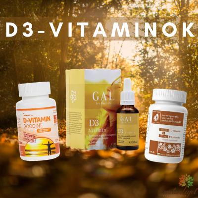 Miért fontos a D-vitamin?