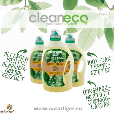 Környezetbarát termékek! Cleaneco, gondolkozz zölden!