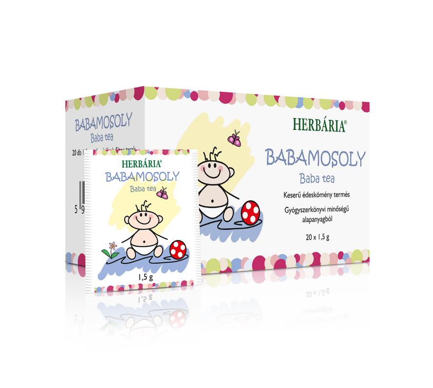 Babamosoly Baba tea, filteres édeskömény