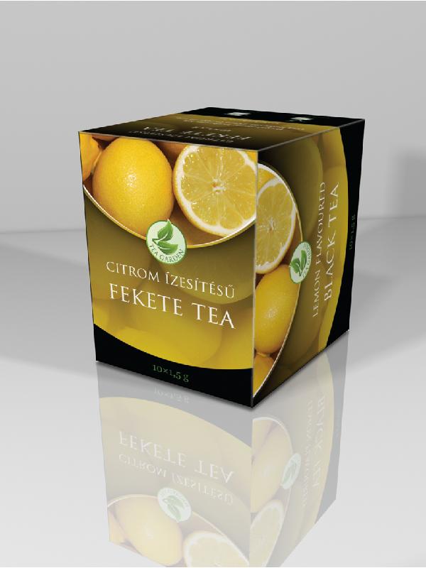 Herbária Citrom ízű fekete tea 10 filter