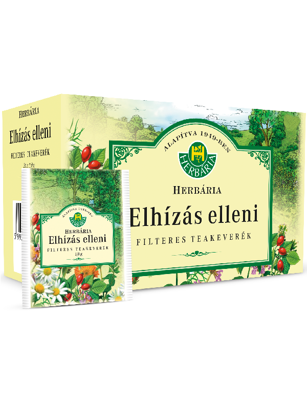Herbária Elhízás elleni teakeverék filterezett