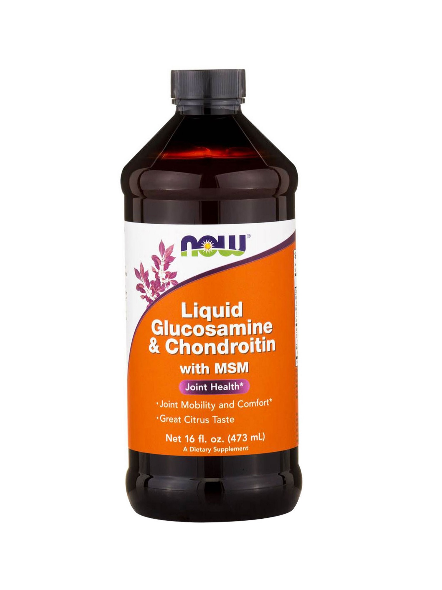 Now Liquid Glucosamine, Chondroitin 473ml