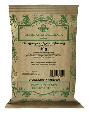 Herbária Galagonya virágos hajtásvég Herb. 40g
