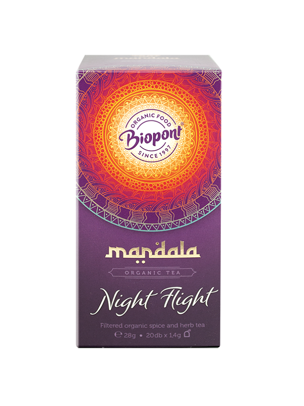 Mandala Night Flight tea 20 filter
