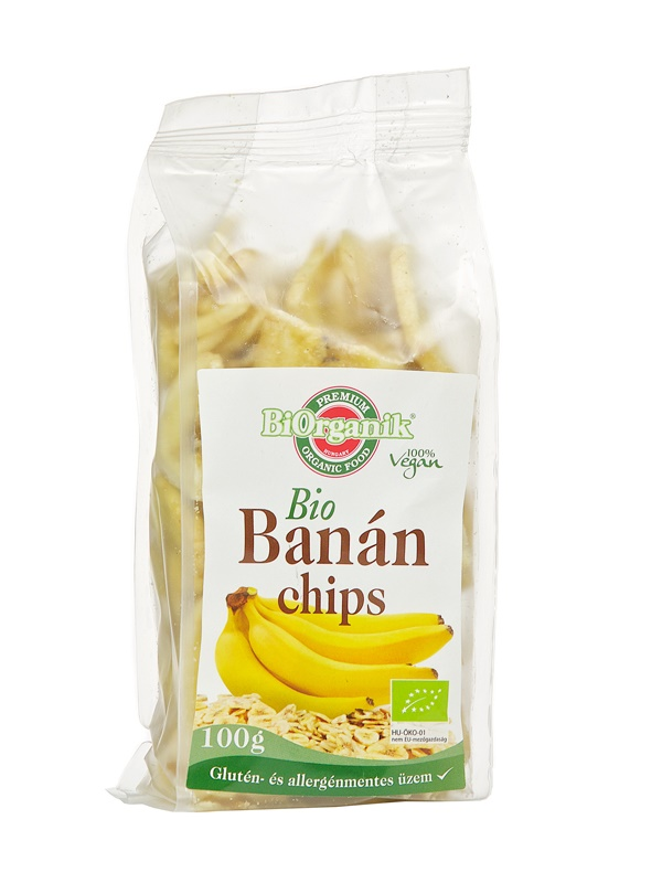 BiOrganik Banánchips 100g