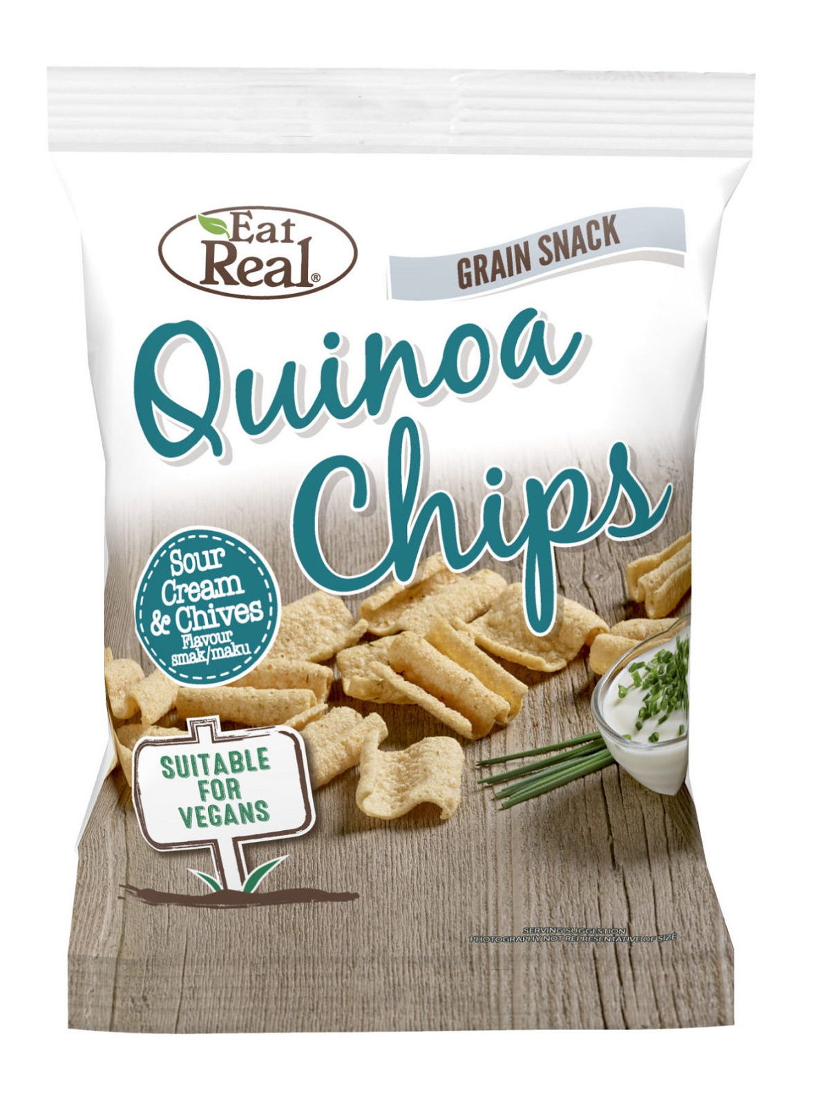Eat Real   Quinoa Chips - Tejfölös és Snidlinges 30g