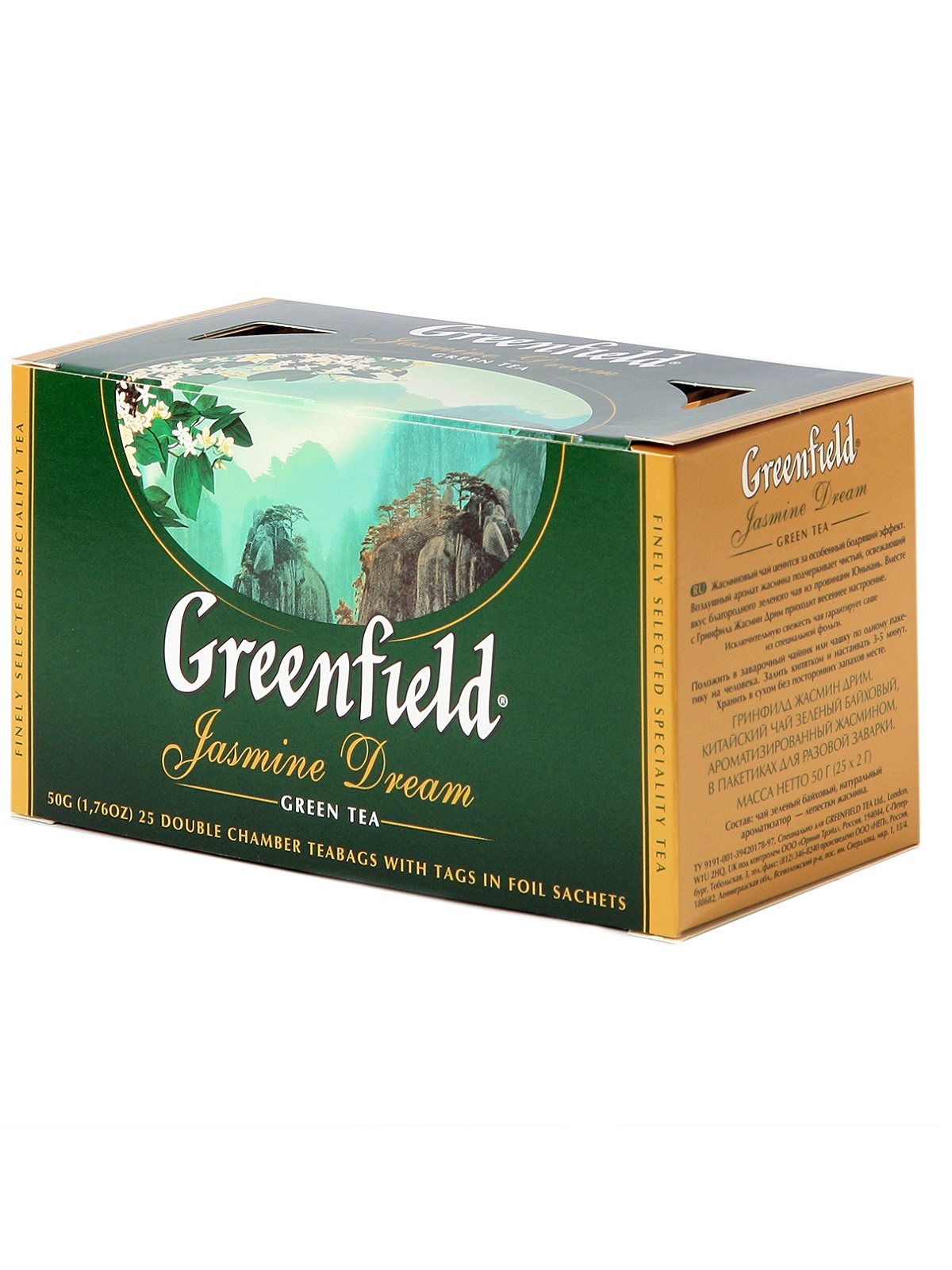 GREENFIELD jasmin dream tea 25 filter