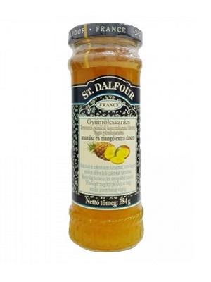 St. Dalfour ananász-mangó lekvár 284g