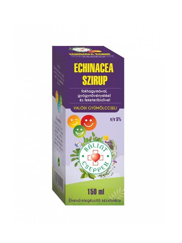 Bálint cseppek Echinacea szirup 150ml