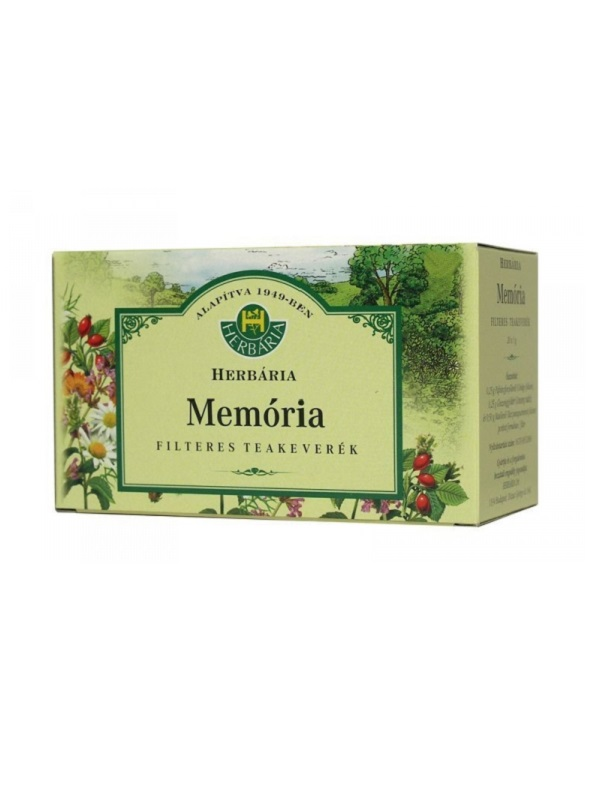 Herbária memória tea 20db