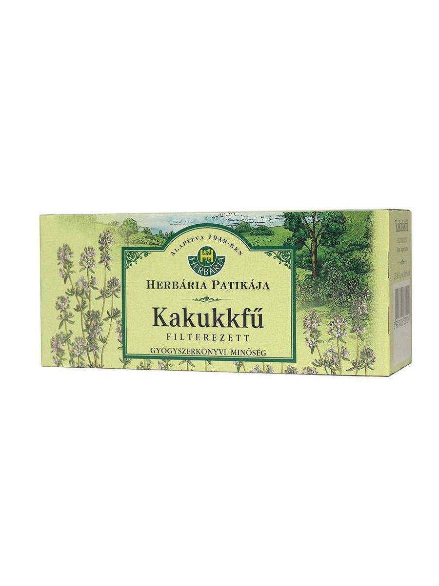Herbária kakukkfű filteres tea 25db