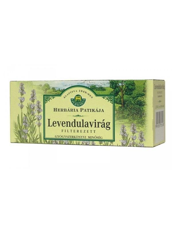 Herbária levendulavirág filteres tea 25db