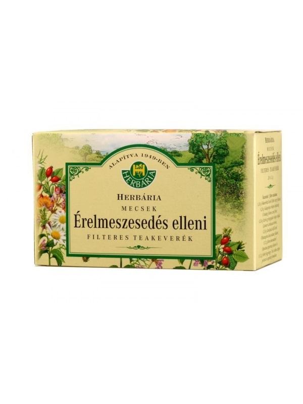 Herbária mecsek érelmeszesedés elleni filteres tea 20db