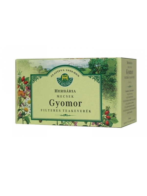 Herbária mecsek gyomor filteres tea 20db