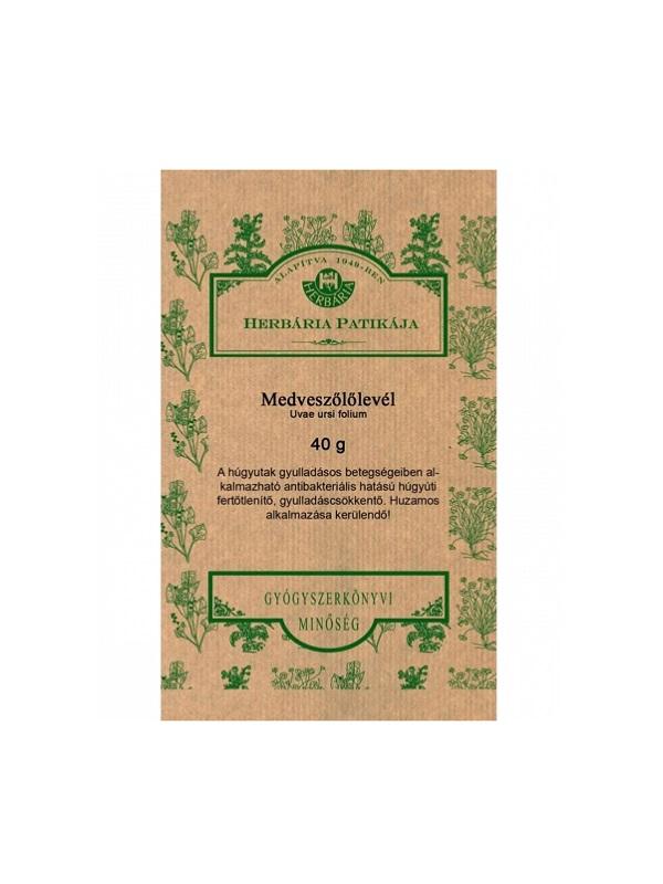 Herbária Medveszőlőlevél tea Herb.  40g