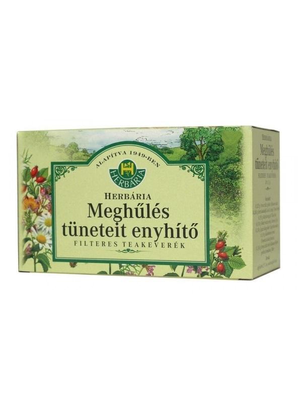 Herbária meghűlést enyhítő tea filter 20x1.3g