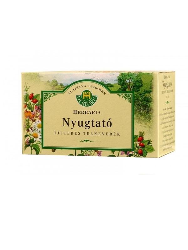 Herbária Nyugtató filteres tea 20db
