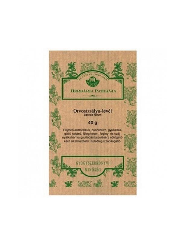 Herbária zsályalevél tea 40g