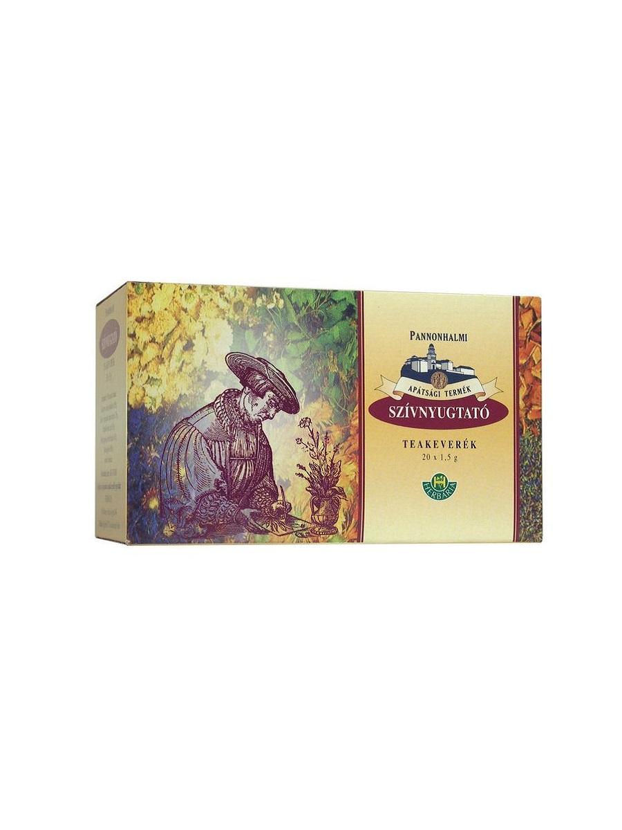 Pannonhalmi szívnyugtató filteres tea 20x1.5g