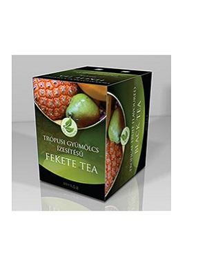 Herbária Trópusi gyümölcs ízű fekete filteres tea 10db