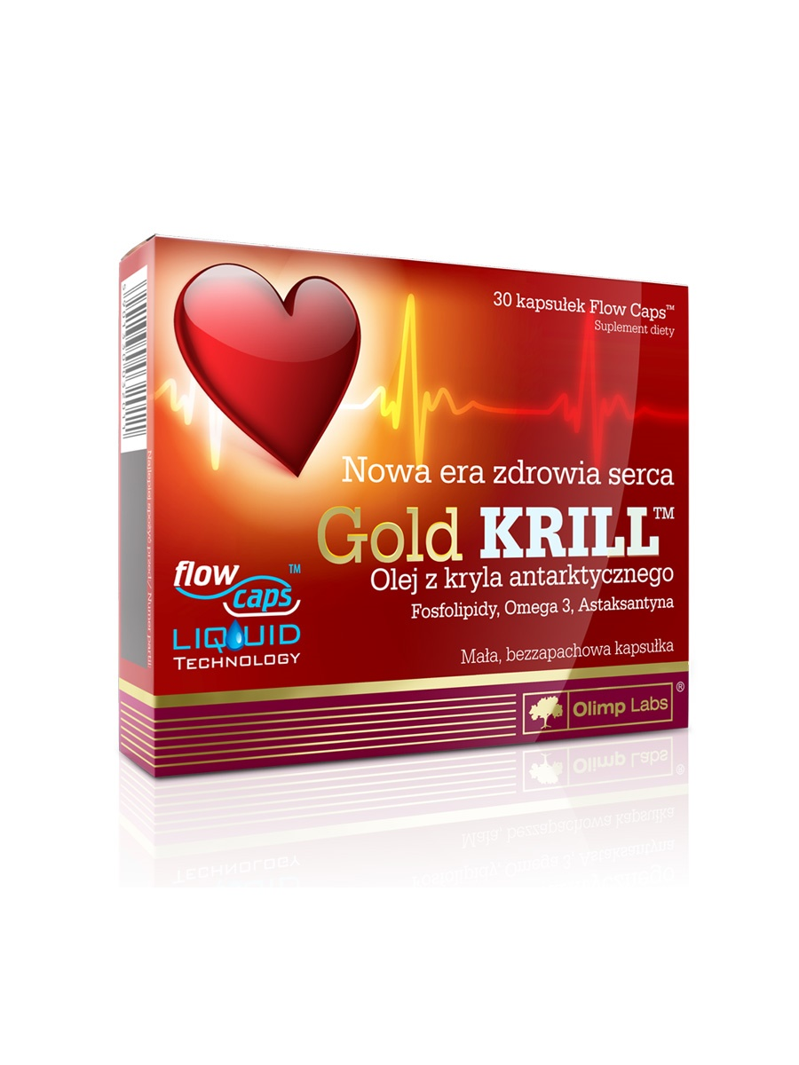 OLIMP LABS GOLD KRILL KAPSZULA 30DB