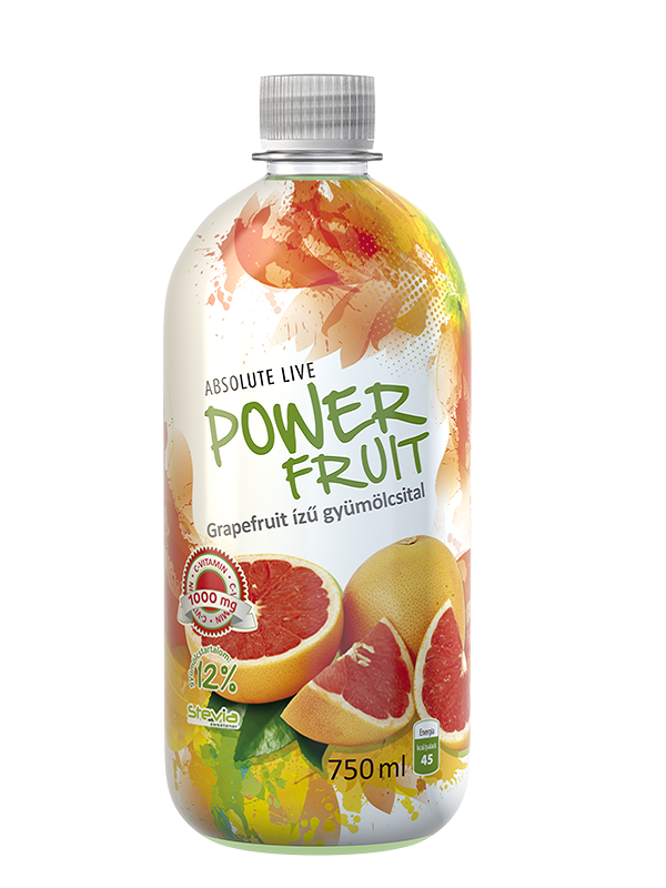 Power fruit grapefruit 0,75l