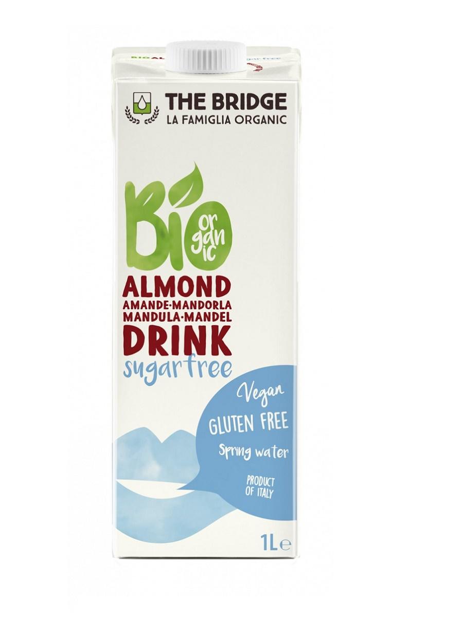 The Bridge Bio Mandulaital cukormentes (gluténmentes) 1l