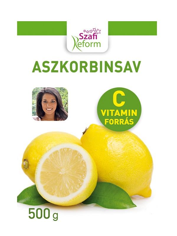 Szafi Reform aszkorbinsav (C-vitamin) 500g