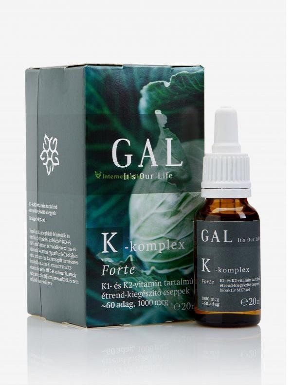 Gal K-komplex forte  folyékony vitamin 20ml