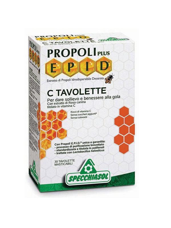 Specchiasol Epid Propolisz+c tabletta 30db