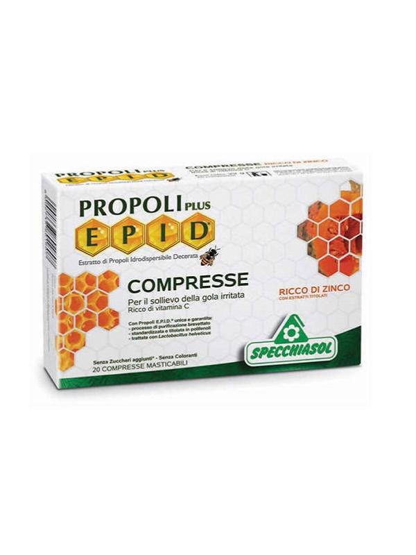 Specchiasol Epid Propoliszos Méz-citrom tabletta 20db