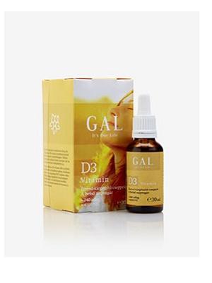 Gal d3 folyékony vitamin 30ml