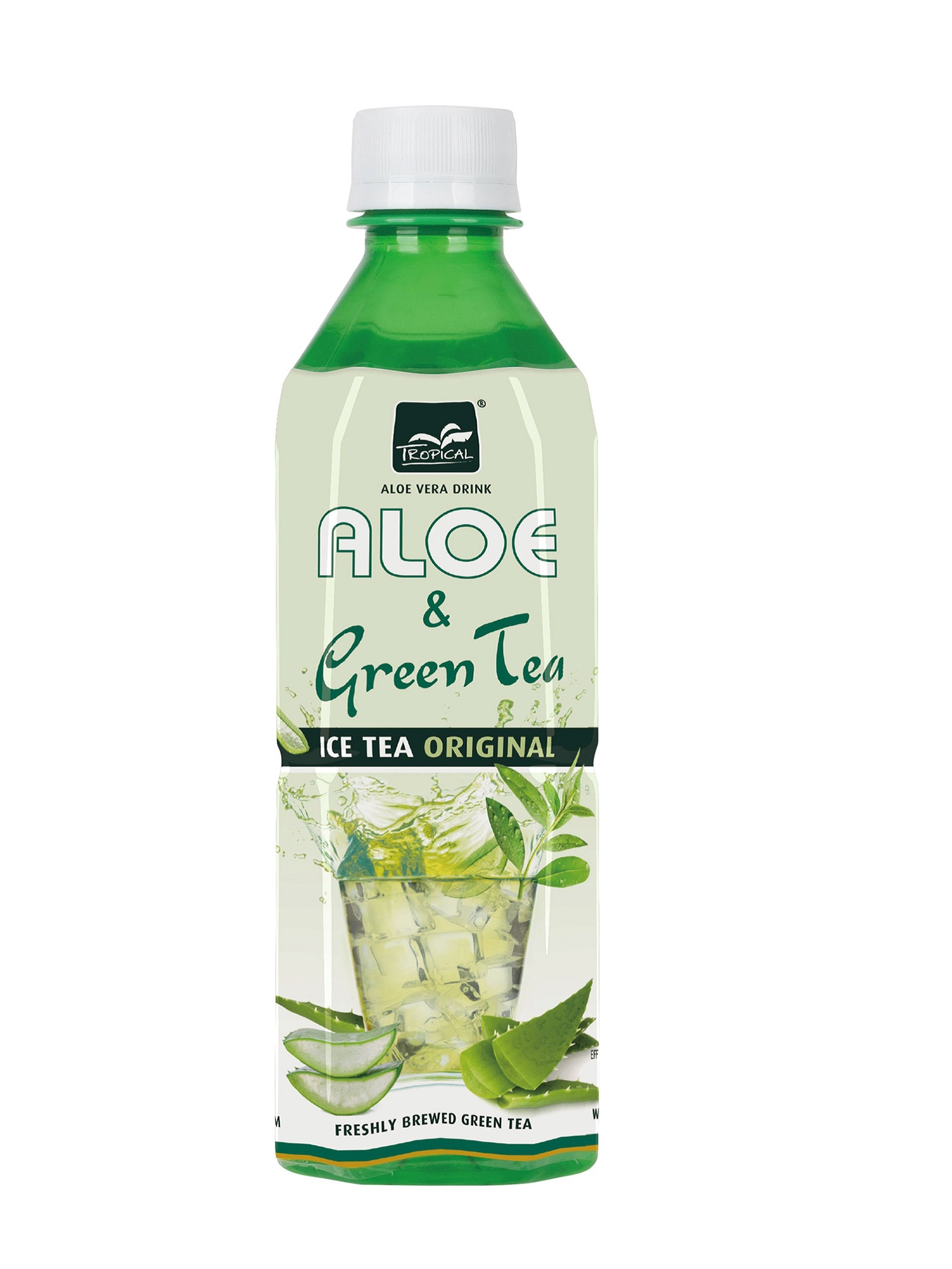 TROPICAL Zöldtea ALOE VERA  500ml