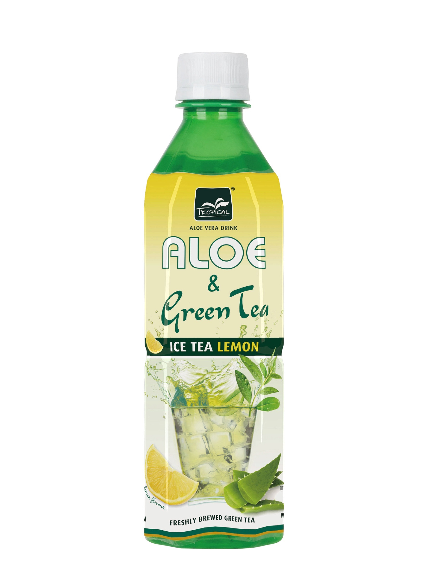 TROPICAL-ALOE-VERA-CITROMOS-ZOLD-TEA-500ml