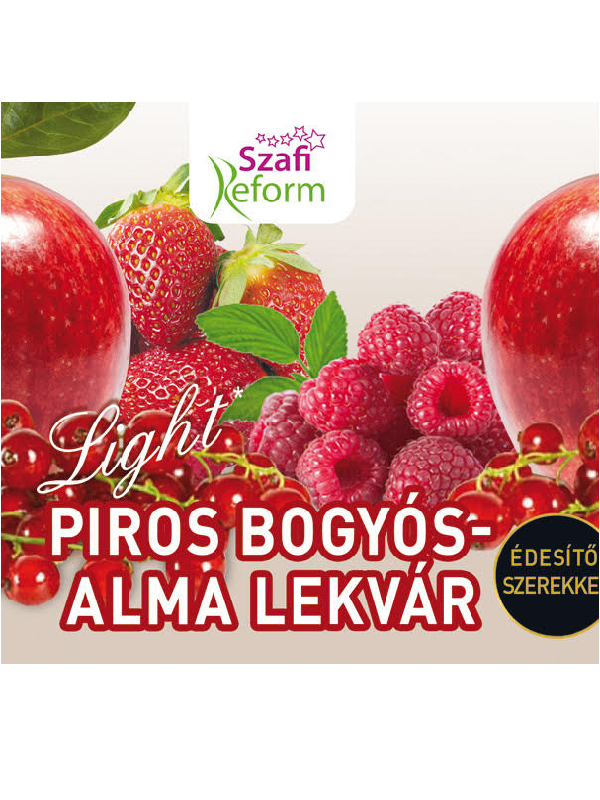 SZAFI REFORM PIROS BOGYÓS-ALMA LEKVÁR 350G