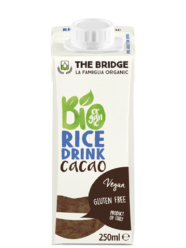 The Bridge Bio Kakaós rizsital (gluténmentes) 250 ML