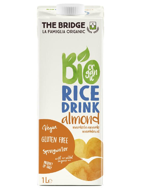 The Bridge Bio Mandulás rizsital (gluténmentes) 1L