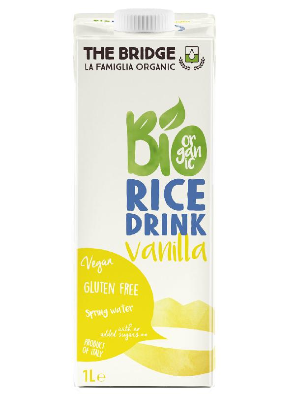 The Bridge Bio Vaníliás rizsital (gluténmentes) 1L