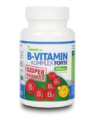 Netamin B-vitamin Komplex Forte kapszula 120db