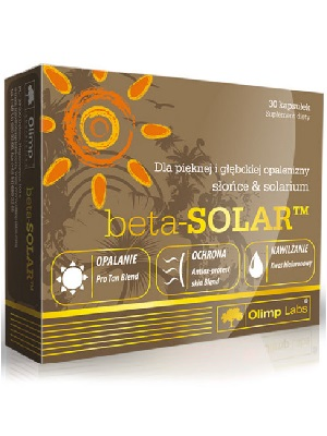 Olimp Labs Beta Solar napozóvitamin kapszula – 30db
