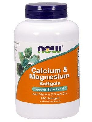 Now Calcium - Magnesium lágyzselatin kapszula 120db
