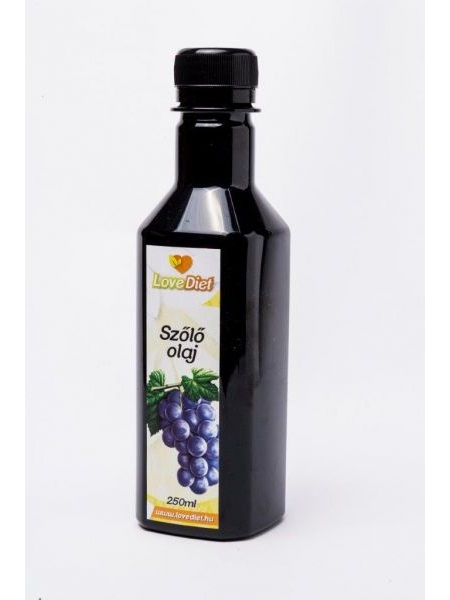 LoveDiet Szőlőmagolaj 250ml