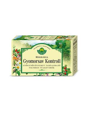 Herbária gyomorsav kontroll tea  filteres 20 db