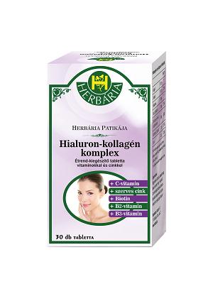 Herbária hialuron-kollagén kapszula 30db
