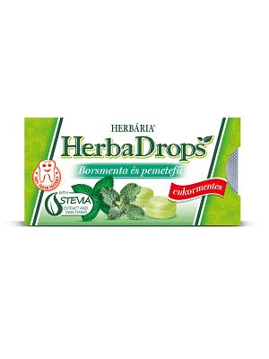 Herbária borsmenta-pemetefű cukorka 8db
