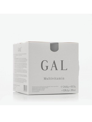 GAL+ Multivitamin plusz 24,6g+43,5g+128,1g+30ml